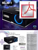 DepthQ HDs3D-1 Video Projector