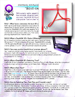 DepthQ® 3D FAQ Brochure 1,905KB -ENGLISH-